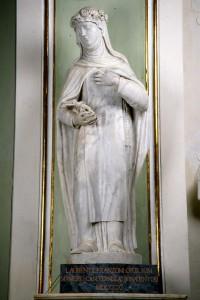 Lorenzo Franzoni, Santa Rosa da Lima, marmo bianco scolpito, 1811, Pontremoli, Cattedrale