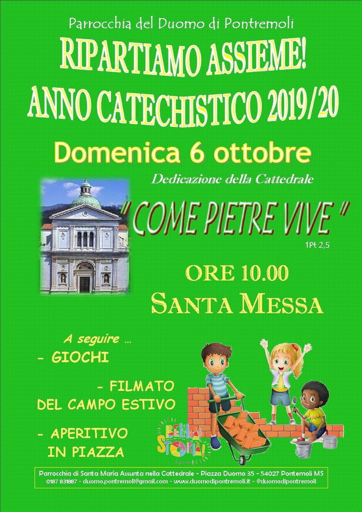 inizio catechismo 2019-20